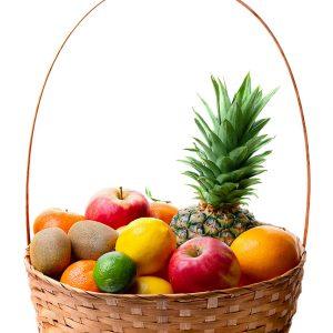 Corbeille de fruits Saveurs et Couleurs primeur à Talmont-Saint-Hilaire