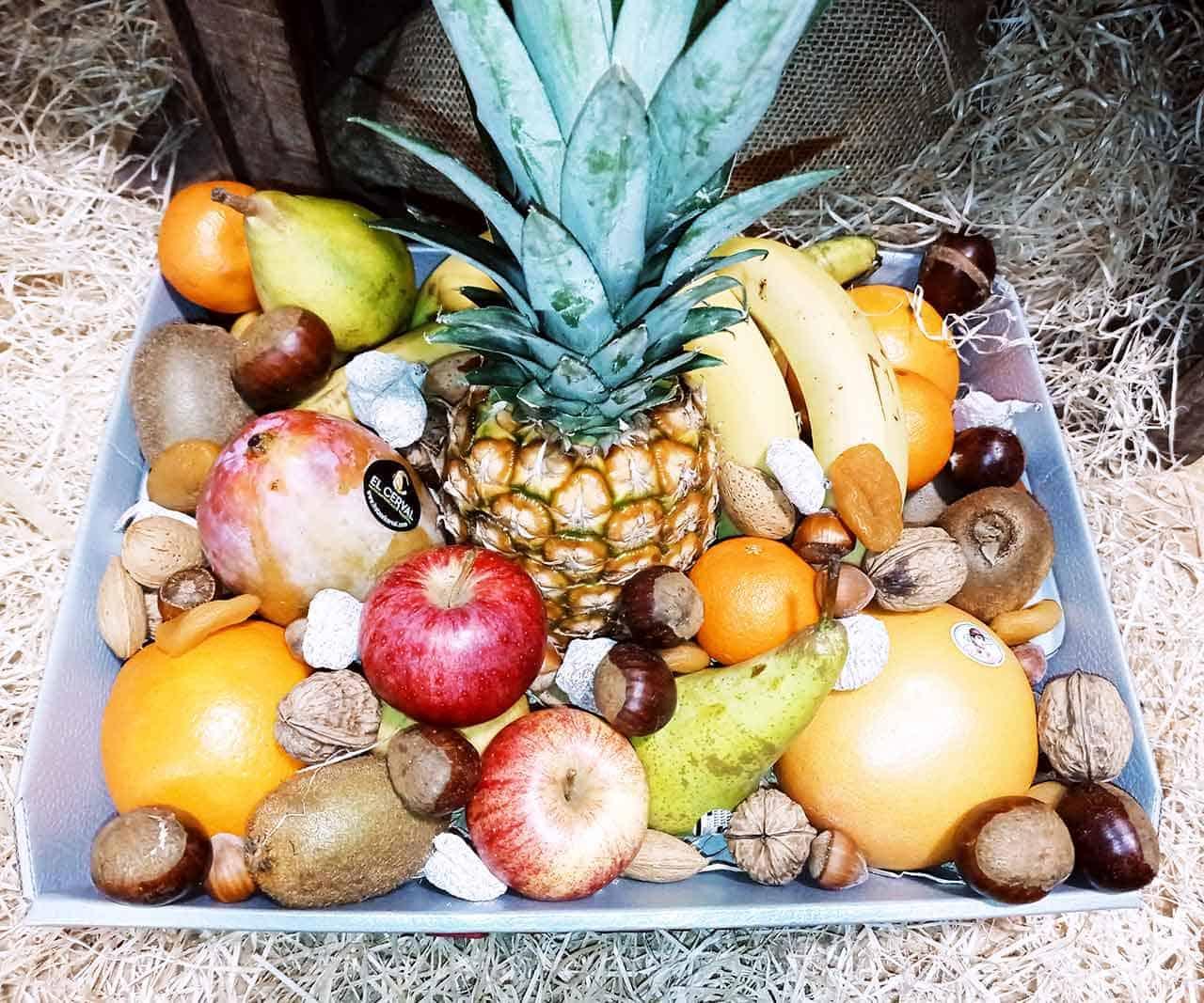 Corbeille de fruits Saveurs et Couleurs à Talmont Saint Hilaire