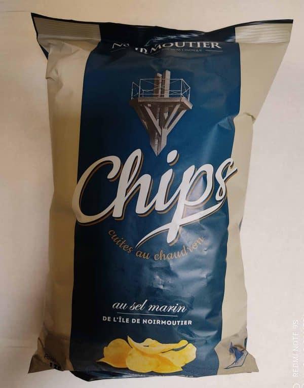 chips Noirmoutier Saveurs et Couleurs primeur à Talmont Saint Hilaire