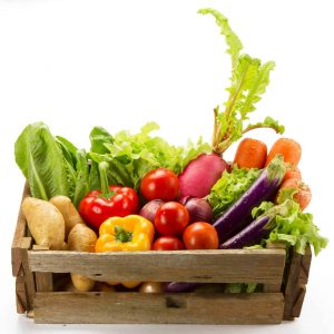 Panier de légumes de saison Saveurs et Couleurs primeur à Talmont-Saint-Hilaire